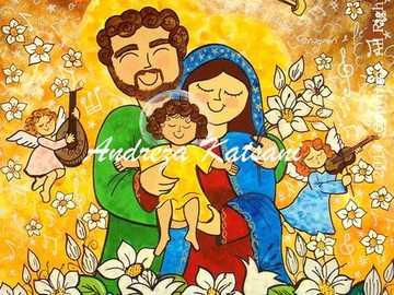 Święta Rodzina - Święta Rodzina. Jezus, Maryja i Józef