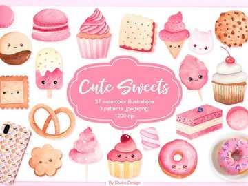 słodkie słodycze - słodkie małe żywe słodycze