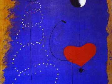 The dancer - Joan Miró was a Spanish painter, sculptor, engraver and ceramist, considered one of the greatest re