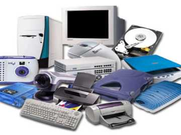 COMPUTER PARTS - Organize the parts of the computer shown in the image