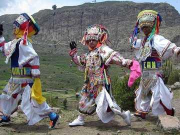 Taniec nożyczek - Taniec nożyczek Ayacucho