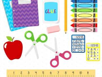 Fournitures scolaires - Fournitures scolaires pour la salle de classe