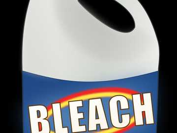 Bleach bleach - Assemble the puzzle to find the cleaning product