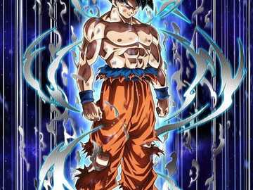 dragon ball z goku - put this together and be number one