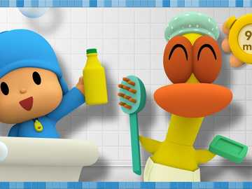 Bath time 2 - Who is having a bath?