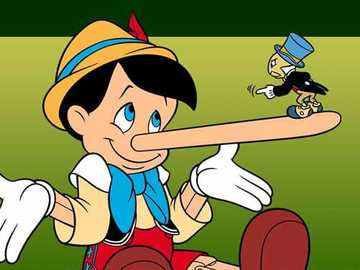 PINOCCHIO AND THE CRICKET - A little pinocchio puzzle to spend some time together.