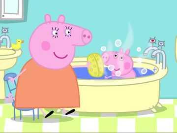 bath time 4 - who is having a bath?