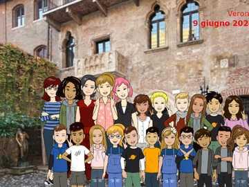 Wycieczka do Werony - Zdjęcia wirtualnej wycieczki do piątej klasy w Weronie