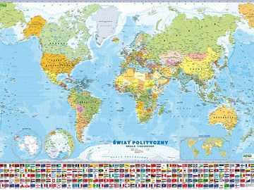 świat polityczny - mapa polityczna świata