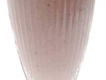 Koktajl truskawkowy - Koktajl mleczny z truskawkami