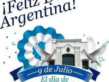 9 De julio - Rompecabezas sobre la independencia Argentina