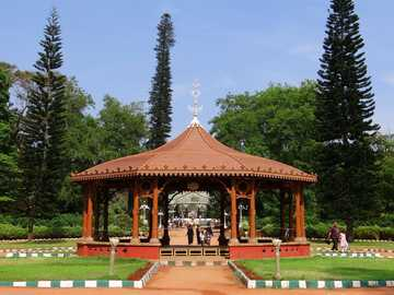 Gazebo in the park - Indian Garden Pavilion