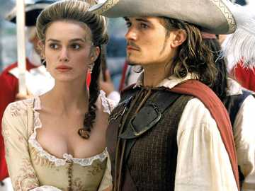 Elizabeth  Swann and Will Turner - fyayefpihiuhfiuheifayeuio