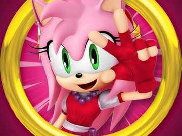 amy rose - has a amy rose para ir al portal o ring magico a la ciudad