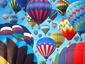 Balloons art print - Balloons art print -Globos