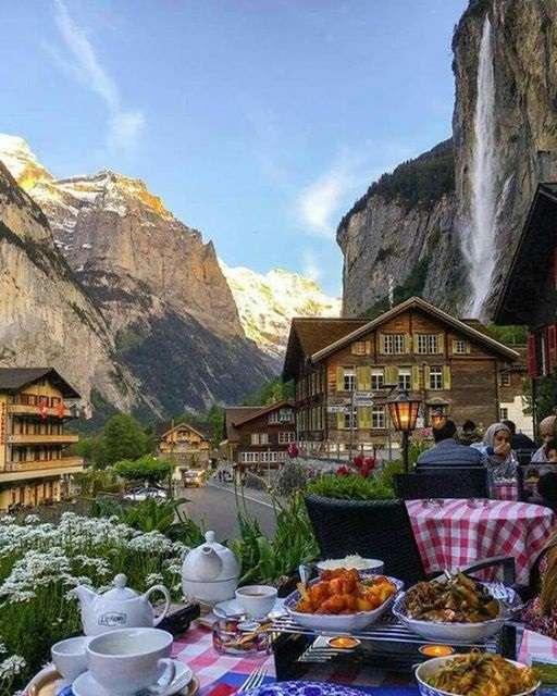 Szwajcaria. - Szwajcarski krajobraz.
