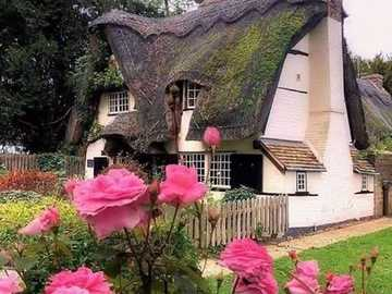 A fairy-tale house. - English fairy tale house.