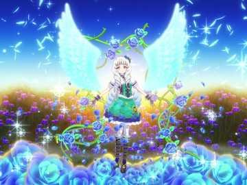 Star Awake Maiden - Victoria gothique Papillon vert queue Coord。 Coord