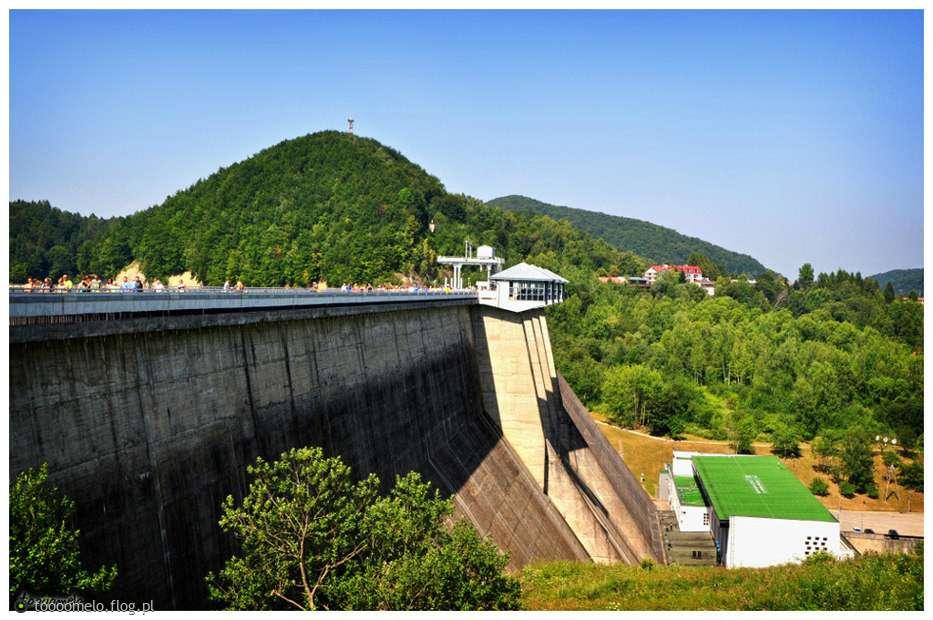 Solina Dam - Van egy jó puzzle (12×8)