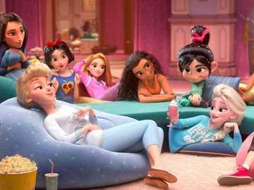 princesas de disney - princesas femeninas de disney