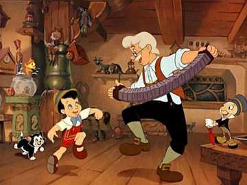 Pinokio-Disney - Wydany w lutym 1940 r