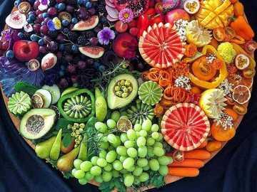 Tagliere di frutta - Frutto ..............