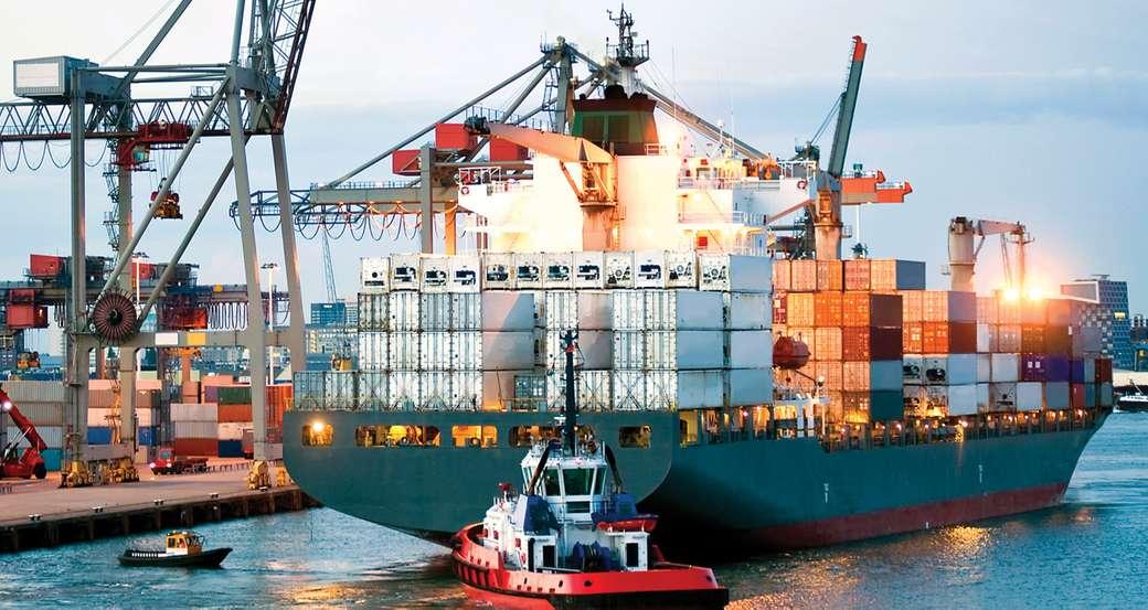 SERVICES MARITIMES AUXILIAIRES - Service fourni aux navires pour leur réception et leur expédition dans les installations portuaire