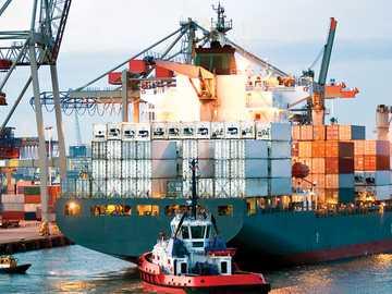 POMOCNICZE USŁUGI MORSKIE - Usługi świadczone statkom w celu ich odbioru i wysyłki w obiektach portowych