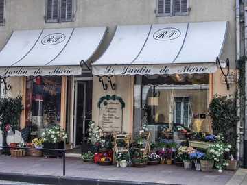 Kwiaciarnia - Francja - Prowansja - muzyka - kwiaciarnia