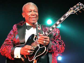 B.B. King - król bluesa. - B.B. King - król bluesa.