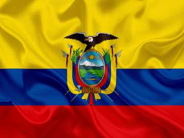 FLAG OF ECUADOR - Assemble the next puzzle