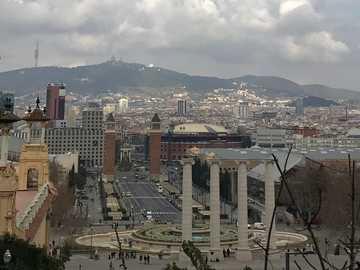 Barcelona - Plac Hiszpański,,,,,,,