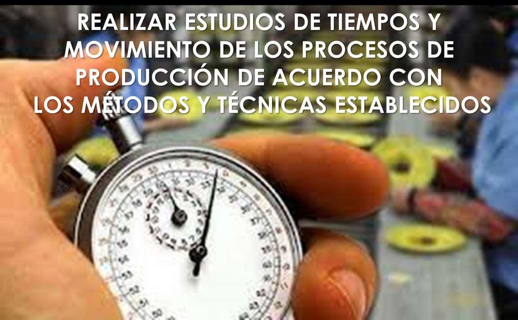 TIEMPOS Y MOVIMIENTOS - REALIZAR ESTUDIOS DE TIEMPOS Y MOVIMIENTO (5×3)