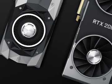 black and silver round device - NVIDIA GTX 1080 Ti and RTX 2080 Shot. Tema, Ghana