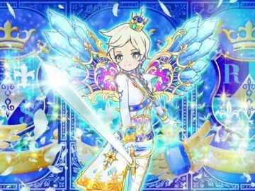 Star Premium Star Razing Slash (Ailes d'étoiles) - Épée royale 品牌 的 星光 高級 魅力 秀。 服裝 : Innocent Prince Coord。