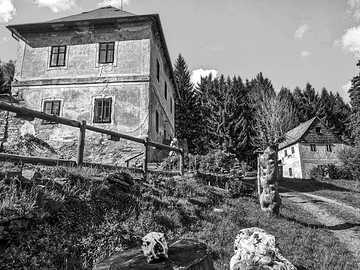Původní domy v Krušnohoří - Původní domy v Krušnohoří