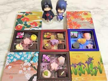 Leckeres Gebäck - Itachi und Sasuke präsentieren hübsche Pralinen