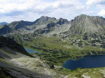 Altos Tatras - Valle de los cinco estanques polacos