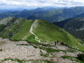 Tatras occidentales - Eslovaquia, el camino a Brestowa