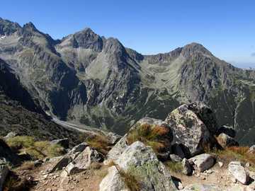 Altos Tatras - Eslovaquia, vista del Pico del Cordero