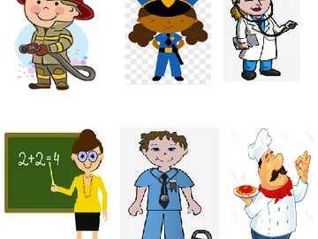 Zawody - Słownictwo zawodów do nauki