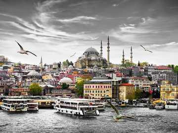 Istanbul - Bosphorus - Istanbul - Bosphorus panorama
