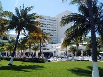 la spiaggia - Il paradiso degli hotel e la spiaggia di Cancun