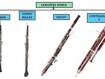 Instrumenty muzyczne - Rodzina wiatrów z podwójną trzciną