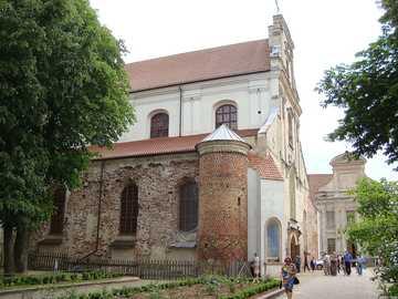 Litauen - Vilnius - Vilnius Kirche und Franziskanerkloster