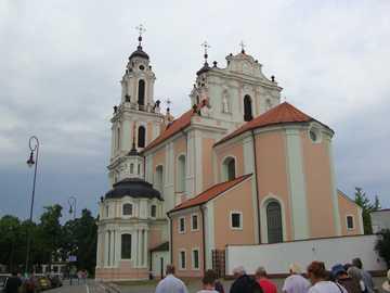Litauen - Vilnius - Die Kirche Catherine (Vilnius Barock)