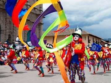 Cajamarca's Carnival - One of the most picturesque carnivals in Latin America is held in the Peruvian city of Cajamarca. It