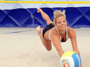 Volleyball - sauver le point - Volleyball - sauver le point