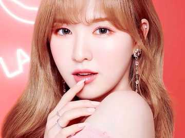 wendy from red velvet - up 90 cm, down 90 cm, right 90 cm, left 90 cm,