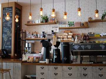Coffee shop - Cafe in an urban style for coffee lovers